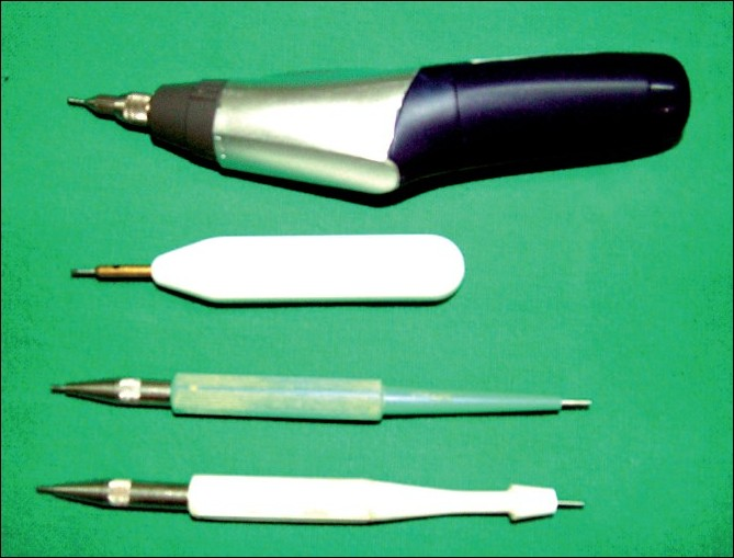 Figure 3 :Instruments used in FUE hair transplant